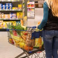 Verbraucherpreise beim Einkaufen